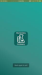 Biochemistry Dictionary - náhled