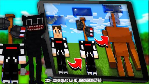 Cartoon Cat Mod & New Siren Head Mod For MCPE apktram screenshots 8