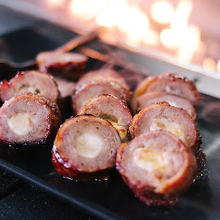 Cheese Stuffed, Bacon Wrapped Hot Dogs Recipe