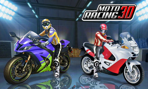 Moto Racing 3D  captures d'écran 2