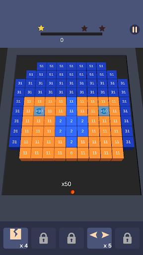 Bricks n Balls Breaker 3D - Puzzle Crusher apkdebit screenshots 3