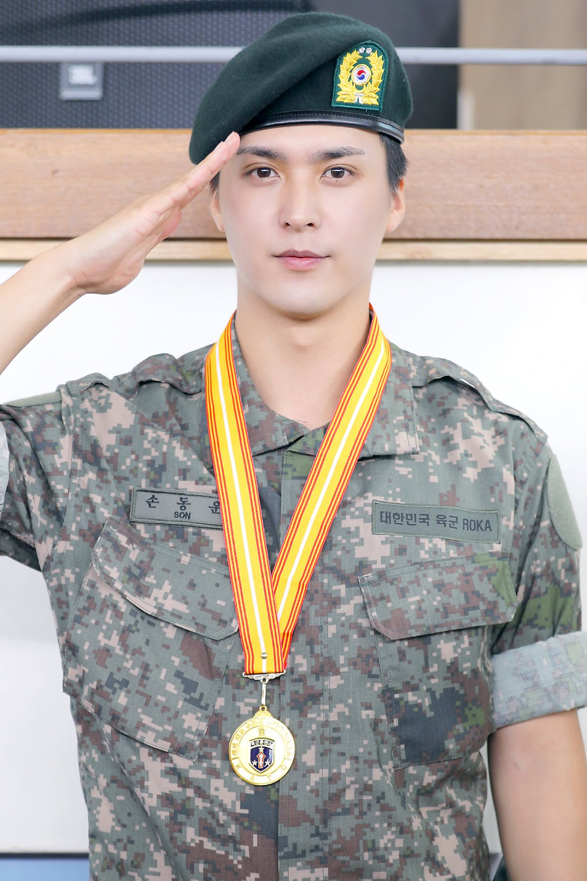 Image result for military highlight dongwoon