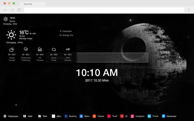 Star Wars: The Last Jedi New Tab HD Pop Theme