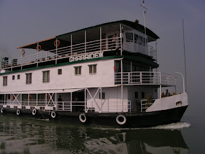 Photo: The river boat