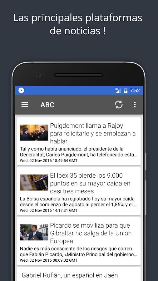 Noticias de actualidad android apps on google play for App noticias android