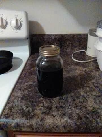 Elderberry Medicinal Syrup