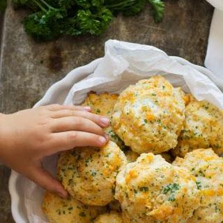 Garlic Cheddar Biscuits.