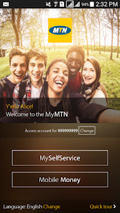 MyMTN- screenshot thumbnail