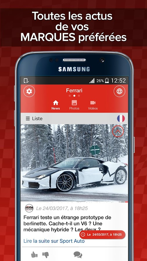 Motors Addict: actu auto moto- screenshot