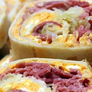 Reuben Sandwich Pinwheels.