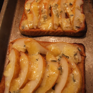 Pear and Stilton Toast Recipe