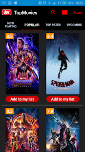♛ Top Movies Advisor - náhled