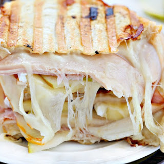 Cordon Bleu Chicken Panini.