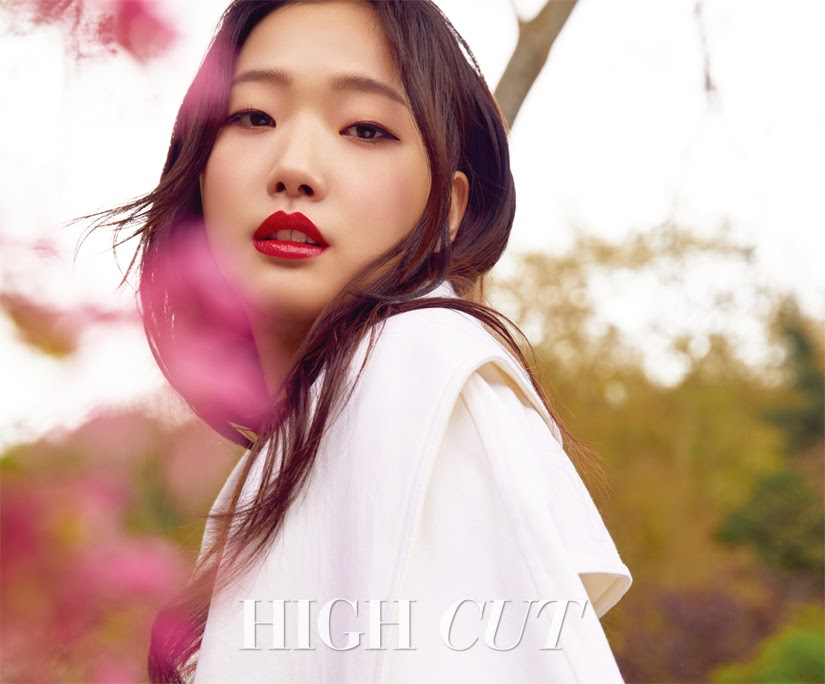 kim go eun high cut