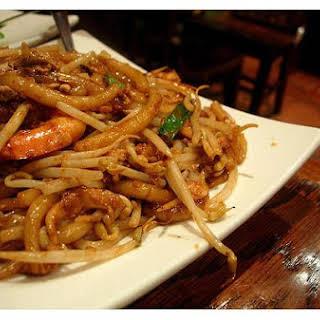 Stir Fried Shrimp With Noodles.