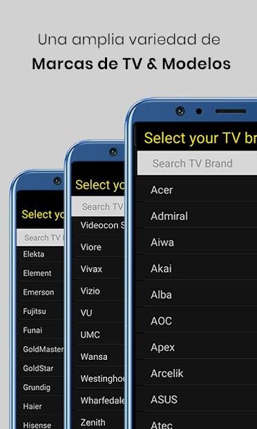 Captura 9 de Control remoto universal de TV para android