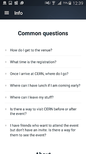 TEDxCERN Screenshot