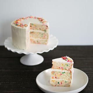 Funfetti Cake with Ermine Buttercream