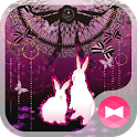 Gothic Forestfor[+]HOMEきせかえテーマ icon