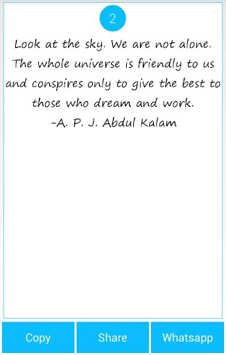 101 Great Saying by APJ Kalam