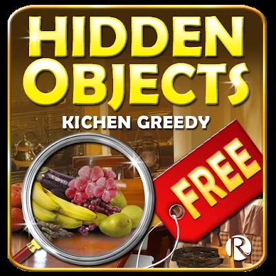 Hidden Objects Kitchen greedy