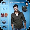 Men Jacket Photo Suit Editor 2019 icon