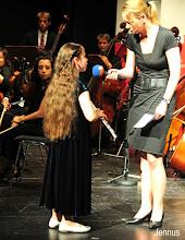 Photo: Eva Kaspariyan  Soloflötistin spielt Mozart KV 315