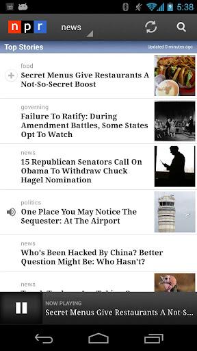 NPR News 2.7.5 screenshots 1