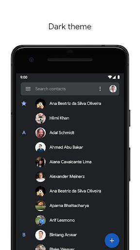 Contacts screenshot 3