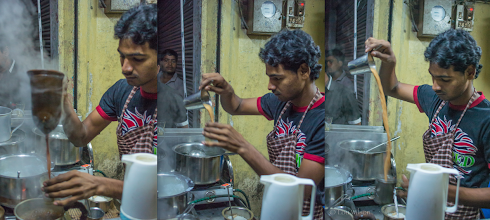 Photo: Chai In The Making Hyderabad India