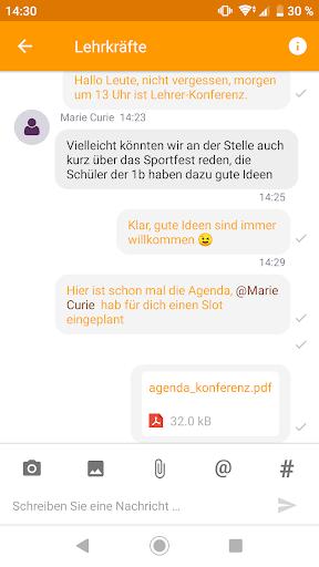 Untis Messenger  screenshots 2