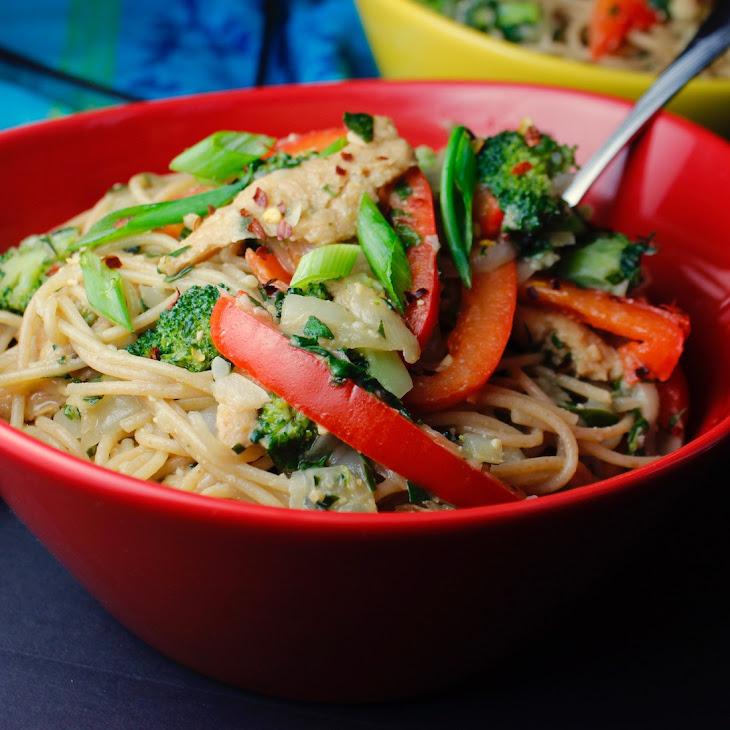 Miso Sesame Spaghetti Bowl Recipe