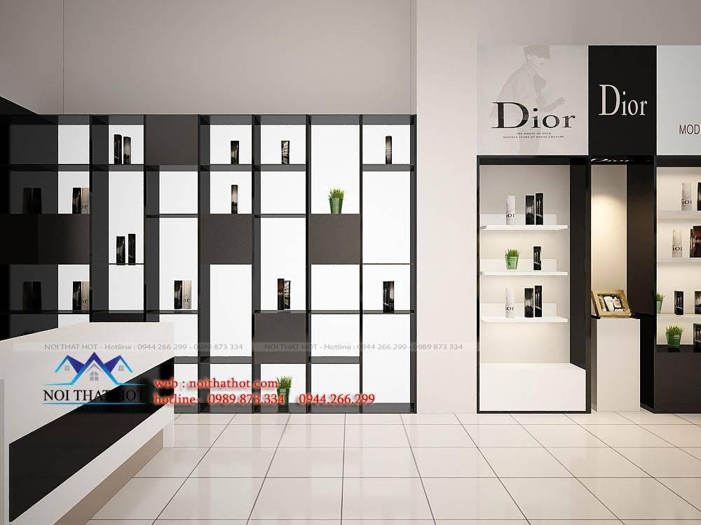 thiết kế shop mỹ phẩm châu âu 8