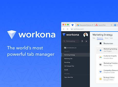 Workona Tab Manager