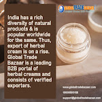 Benefits of B2B portals to Herbal Cream Exporters