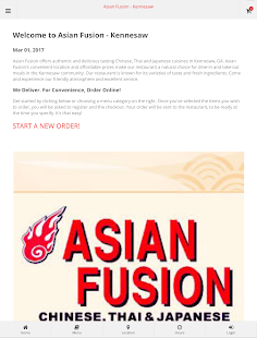 Asian Fusion - Kennesaw- screenshot thumbnail