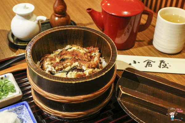 台北東區 小倉屋鰻魚飯 日本九州百年名店 鰻魚定食三吃