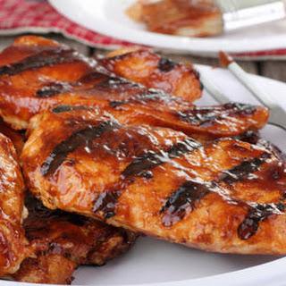 Grilled Bbq Chicken Breasts.