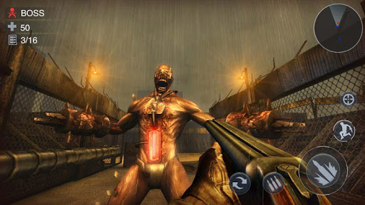 Zombie 3D Gun Shooter- Real Survival Warfare  captures d'écran 2