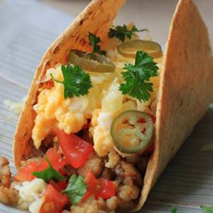 Homemade Pork Tacos with an Asian Twist