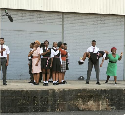 Imbewu cast re-enact iconic Sarafina scene