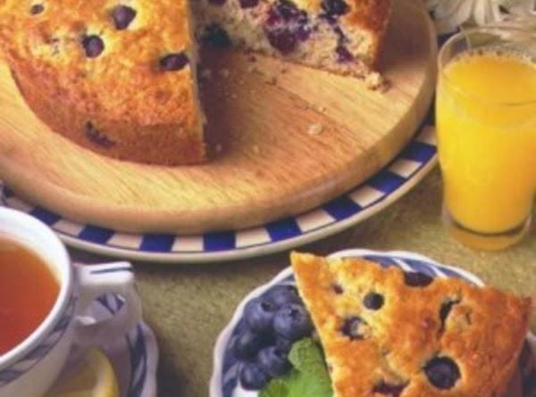 Blueberry Oatmeal Breakfast Cake Recipe