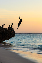 Photo: Children jumping off the rocks on the northern tip of Zanzibar. How they didn't hurt themselves I'm not quite sure...  #AfricanTuesday  by +Morkel Erasmus, +Dick Whitlock and +Grobler du Preez (+African Tuesday) #SeaTuesday  by +Julia Anna Gospodarou (+Sea Tuesday)