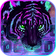 Neon Galaxy Tiger keyboard APK