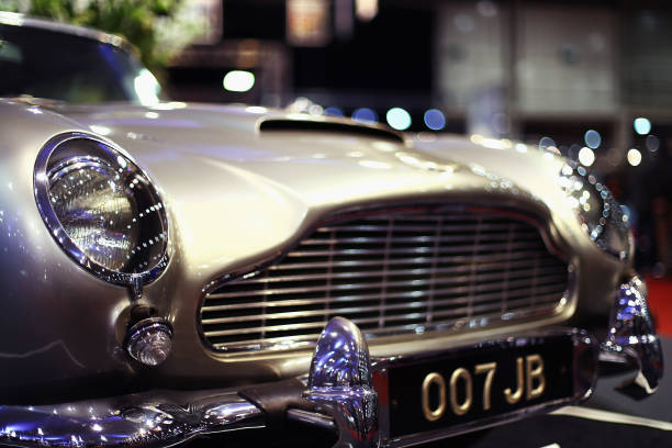 James Bond Tribute Aston Martin Features Working Spy Gadgetry
