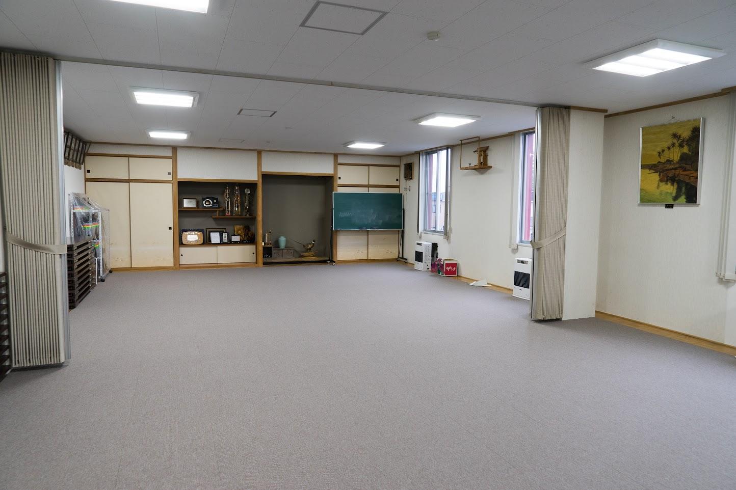 2階研修室床改修