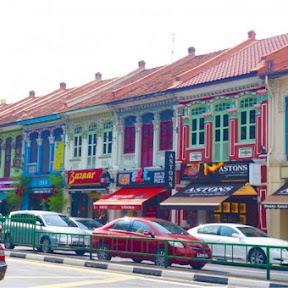 シンガポール、カトンエリアで、プラナカン文化を堪能しよう