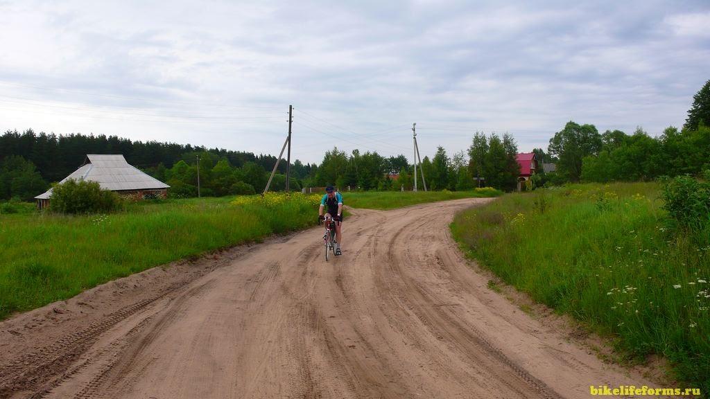 велопоход на Шошу