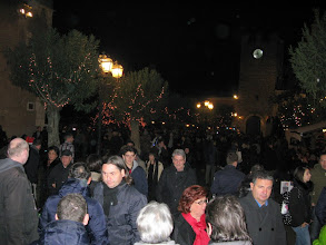 Photo: Party time in piazza Sant'Agostino Taormina