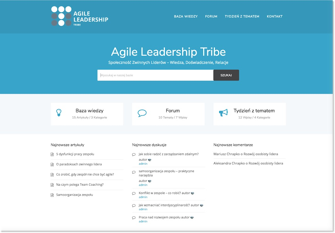 agile leadership tribe